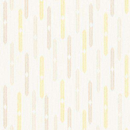 Tapete Vlies Raute Ethno creme beige AS Creation 35119-3