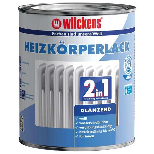 2in1 Heizkörperlack Wilckens Heizungslack glänzend 750ml