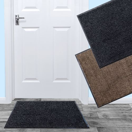 Dirt Trapper Mat Microfibre Anti-Slip Door Mat Heavy Duty CLEANI online kaufen