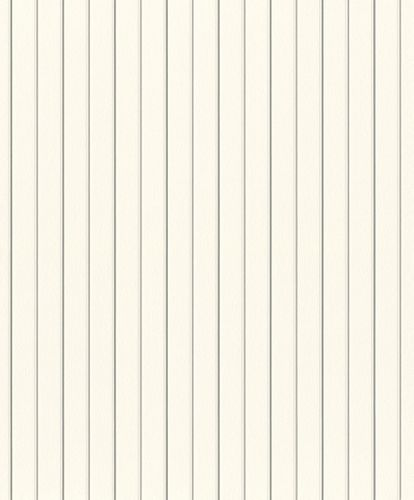 Tapete Vlies Rasch Gestreift weiß grau Rasch 798319 online kaufen