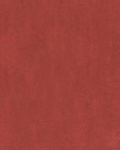 Non-Woven Wallpaper textured plaster dark red 59318