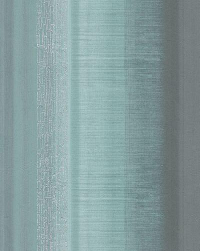 Wallpaper striped turqouise anthracite metallic Marburg 59319 online kaufen