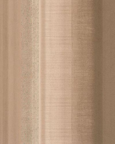 Wallpaper striped design beige brown metallic Marburg 59321