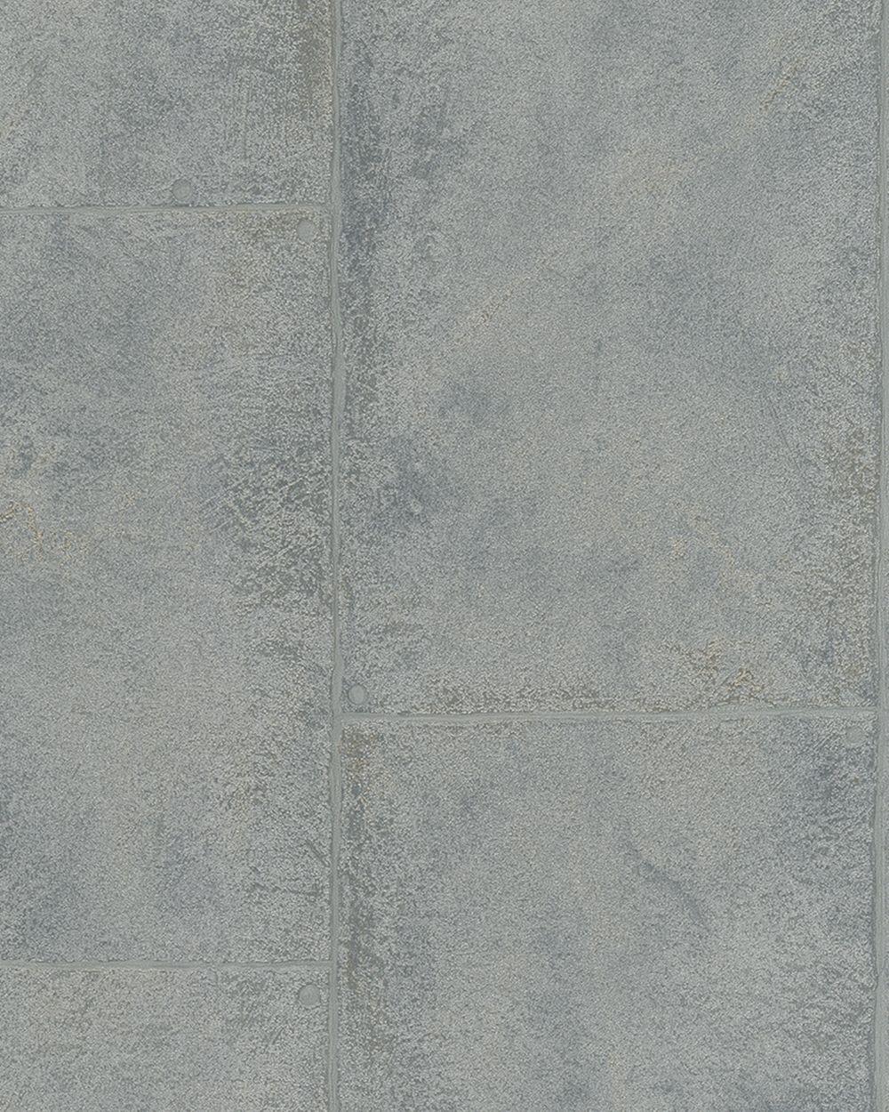 tapete vlies beton-optik silber grau metallic marburg 59334