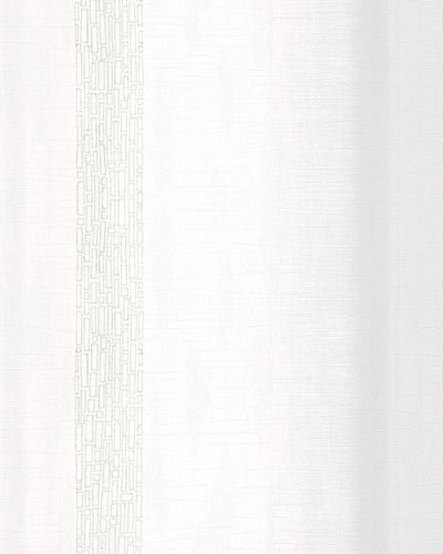 Vliestapete Streifen weiß grau Metallic Marburg 59342