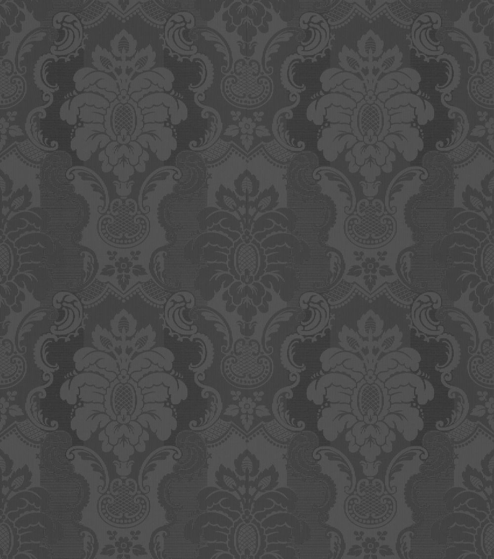 tapete vlies barock schwarz metallic rasch 802450. Black Bedroom Furniture Sets. Home Design Ideas