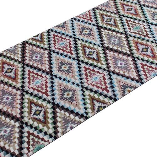 Teppichläufer Teppich Läufer Wunschmaß Anti-Rutsch Ethno + Federn online kaufen
