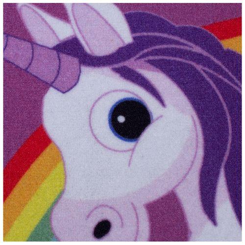 Kids Carpet Unicorn Purple Girls Kids WASHABLE 95x133 cm online kaufen