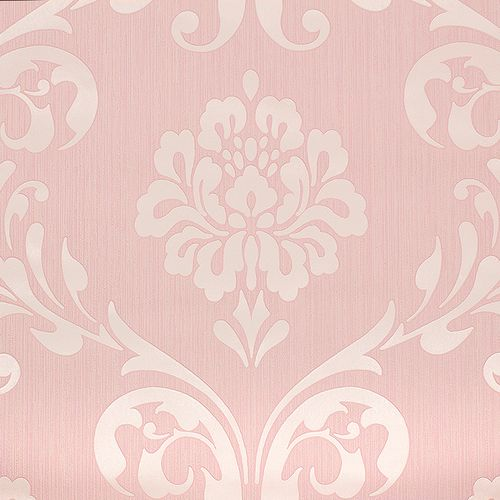 Barock tapete ornamente klassik vliestapete metallic 3 farben for Ornament tapete rosa