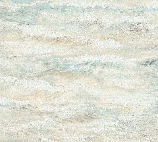 Tapete Vlies Wellen Brandung weiß beige livingwalls 35409-1 online kaufen