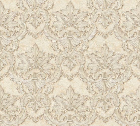 Non-woven wallpaper baroque tendrils cream AP 34370-3 online kaufen