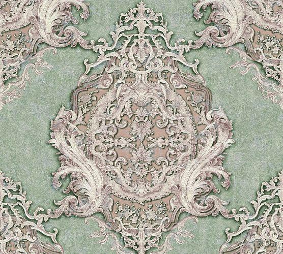 Tapete Vlies Barock Klassisch grün lila AP 34372-5 online kaufen