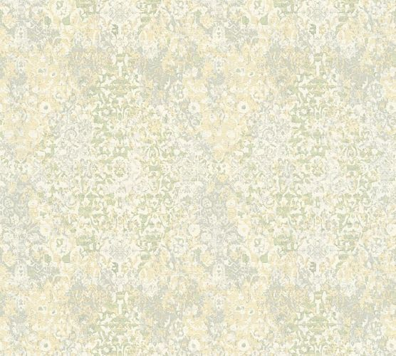 Non-woven wallpaper ornament used cream white AP 34375-1 online kaufen