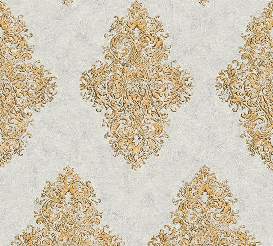 Non-woven wallpaper ornament classic grey gold AP 35110-3 online kaufen