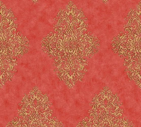 Non-woven wallpaper ornament classic red gold AP 35110-6 online kaufen