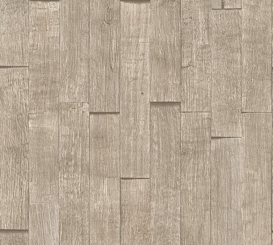 Vlies Tapete Holzoptik Holzbalken taupe AS Creation 35584-4 online kaufen