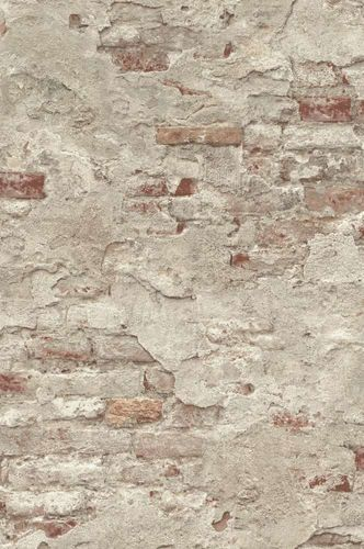 Wallpaper natural stone style taupe red brown Rasch 939323  online kaufen