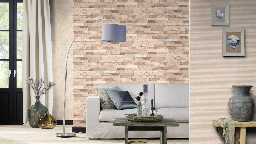 tapete vlies beton stein optik taupe grau rasch 939538. Black Bedroom Furniture Sets. Home Design Ideas