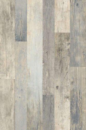 Tapete Vlies Vintage Holz-Optik beige blau Rasch 941623 online kaufen