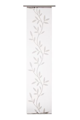 Panel Drape Olivia graphic transparent grey 5045-10 online kaufen