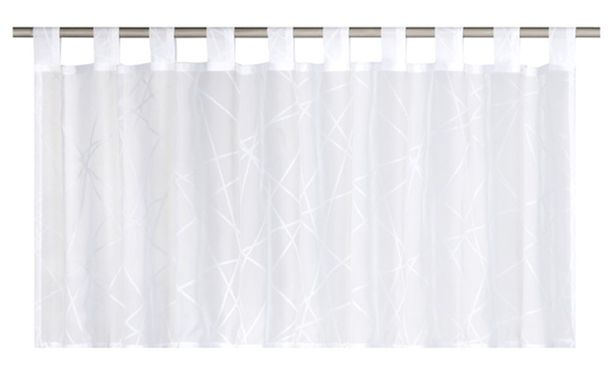 Half Drape transparent Crossover graphic white 186708 online kaufen