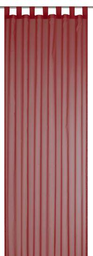 Schlaufenschal Feel Good Uni transparent Einfarbig rot 198282 online kaufen