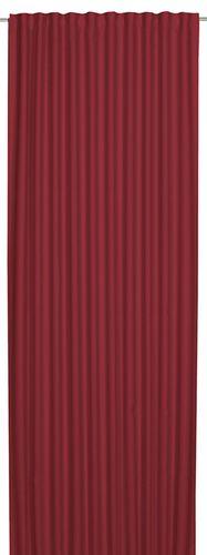 Schlaufenbandschal Midnight verdunkler Uni rot 198343 online kaufen