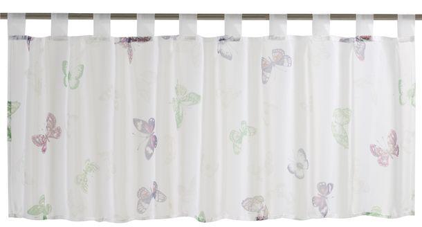 Scheibengardine Farfalla transparent Floral bunt 198442 online kaufen