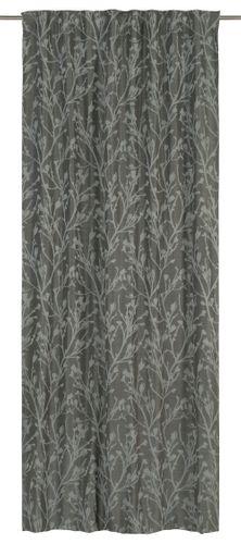Schlaufenbandschal Secret Garden verdunkler Floral silber schwarz 199531 online kaufen