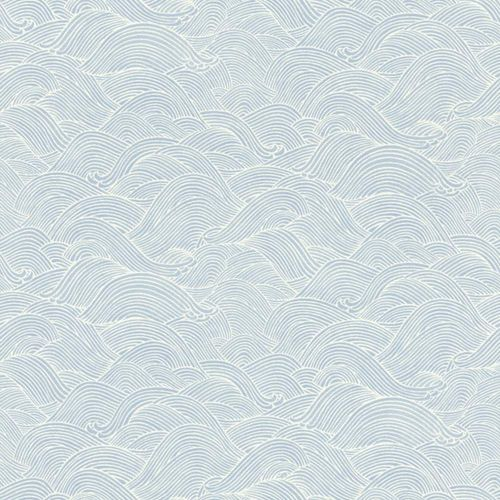 BARBARA Home Collection Tapete Wellen Wal blau 527148 online kaufen