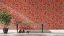 Article picture Barbara Schöneberger Wallpaper China dragon orange blue 527957 3