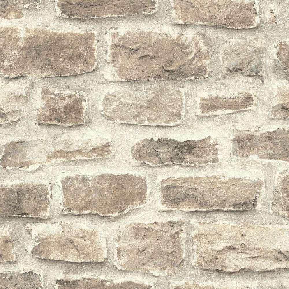 barbara becker tapete bb stein optik beige grau 860610. Black Bedroom Furniture Sets. Home Design Ideas