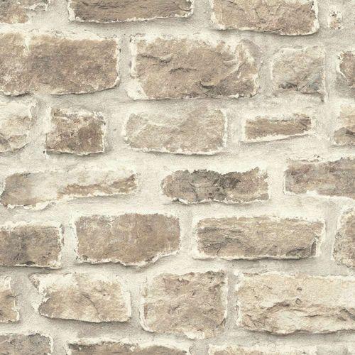 Barbara Becker Tapete bb Stein-Optik beige grau 860610 online kaufen