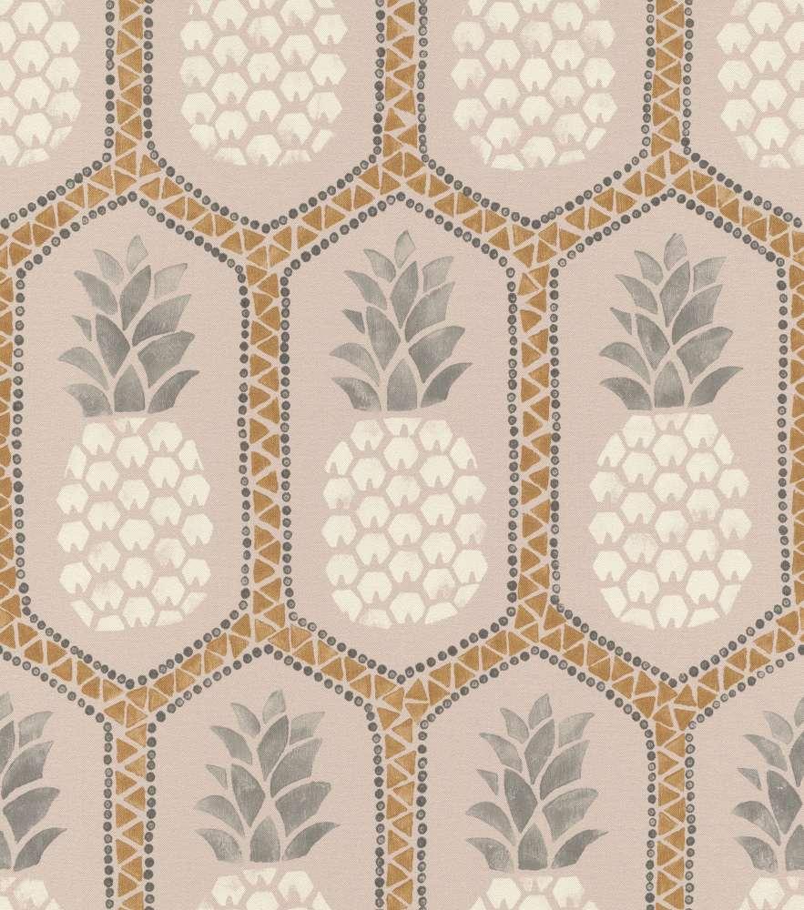 Barbara Becker Wallpaper Bb Pineapple Rose Gold 862119 001