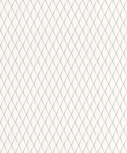 Vlies Tapete Rauten 3D grau Metallic Rasch Cato 800760