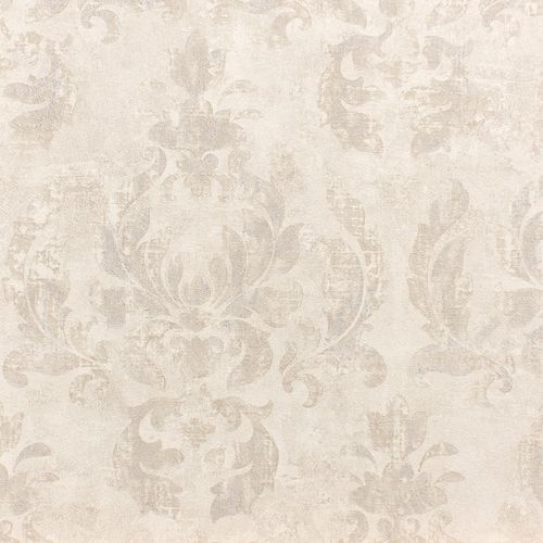 Wallpaper baroque white silver metallic Rasch 467406 online kaufen