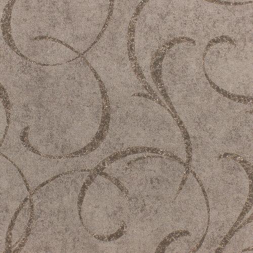 Vlies Tapete Vintage Ranken dunkelgrau Metallic Rasch 467659 online kaufen