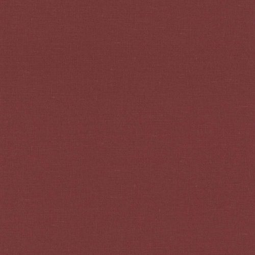 Vlies Tapete Uni Textil Design rot Rasch 937442