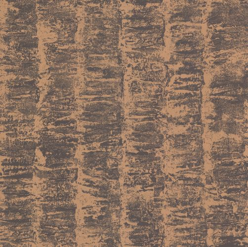 Wallpaper Kretschmer Deluxe stripes coppery grey gloss 41001-40 online kaufen