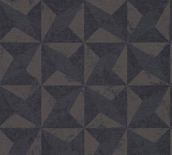 Vlies Tapete Kacheln 3D dunkelbraun livingwalls 36001-2 online kaufen