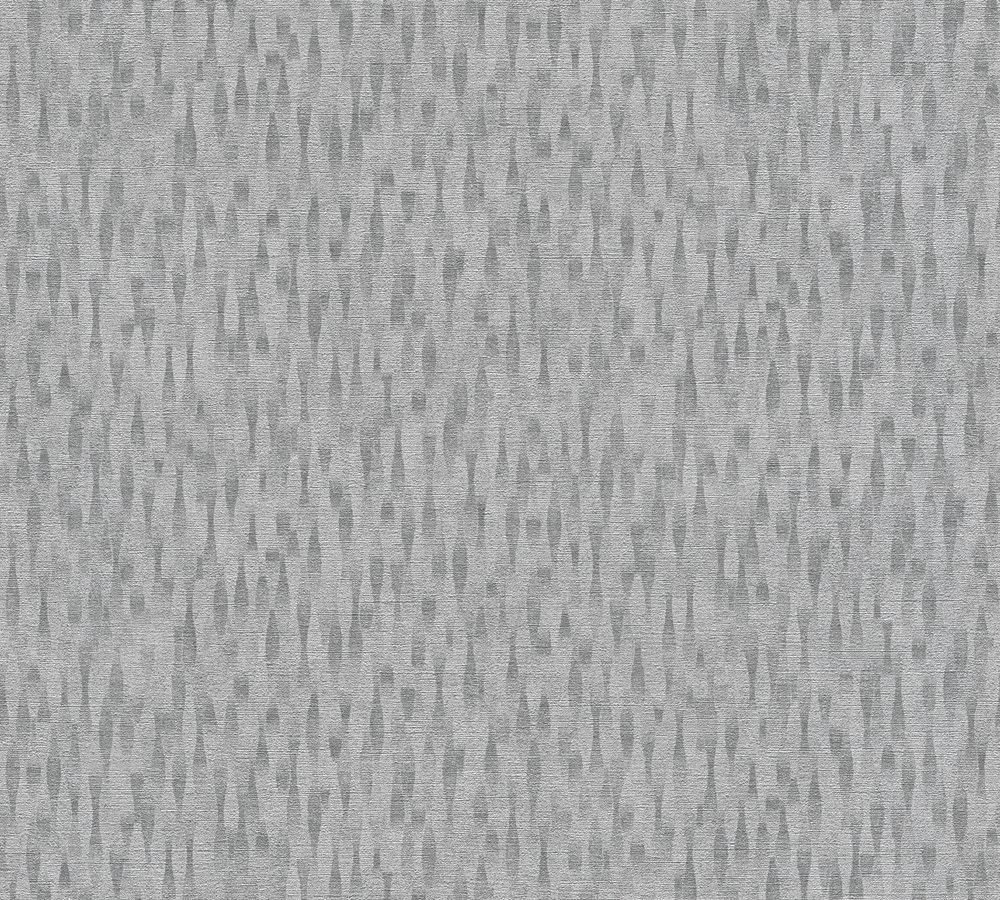 vlies tapete design muster grau silber livingwalls 36003 1. Black Bedroom Furniture Sets. Home Design Ideas