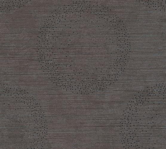 Vlies Tapete Meliert Kreise dunkelbraun livingwalls 36005-2 online kaufen