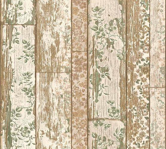 Neue Bude 2.0 Tapete Holz-Optik Vintage beigebraun grün 36119-2 online kaufen