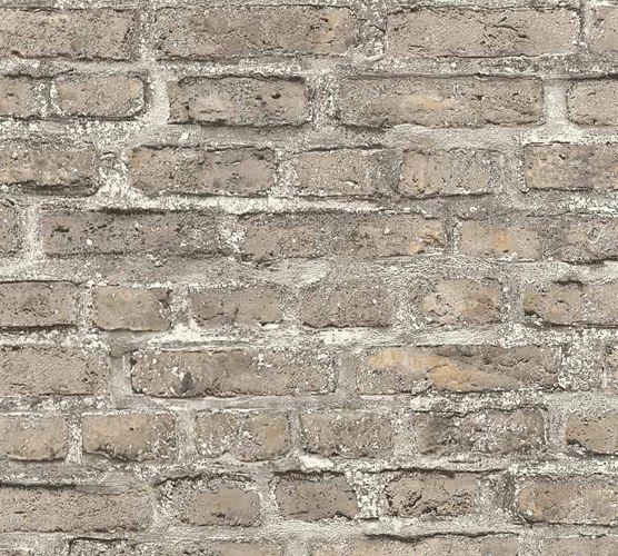Neue Bude 2.0 Tapete Stein-Optik Ziegel beigegrau 36139-4 online kaufen