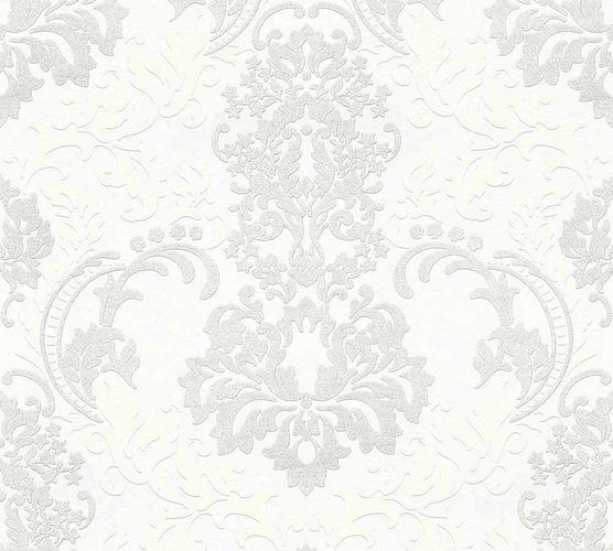 Neue Bude 2.0 Tapete Barock weiß hellgrau 36166-1 online kaufen