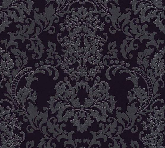 Wallpaper ornaments black anthracite Neue Bude 2.0 36166-3