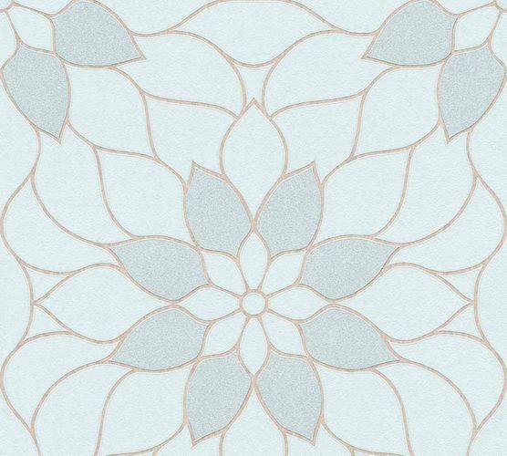Neue Bude 2.0 Tapete Floral blau beige 36171-4 online kaufen