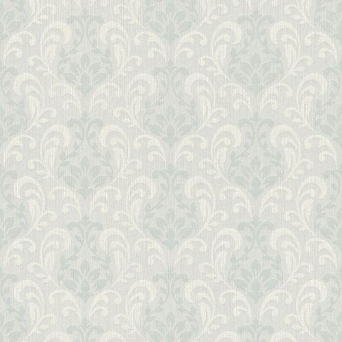 Textil Tapete Ornament hellgrau Rasch Textil Sky 082400