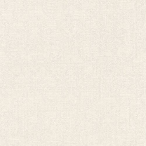 Textil Tapete Barock cremeweiß weiß Rasch Textil Sky 082622