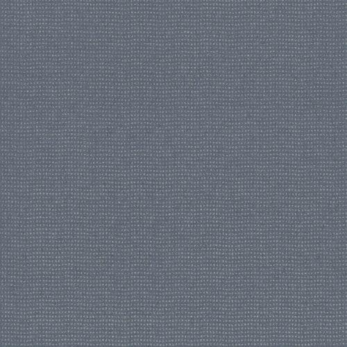 Vliestapete Tupfen blau silber World Wide Walls 228686